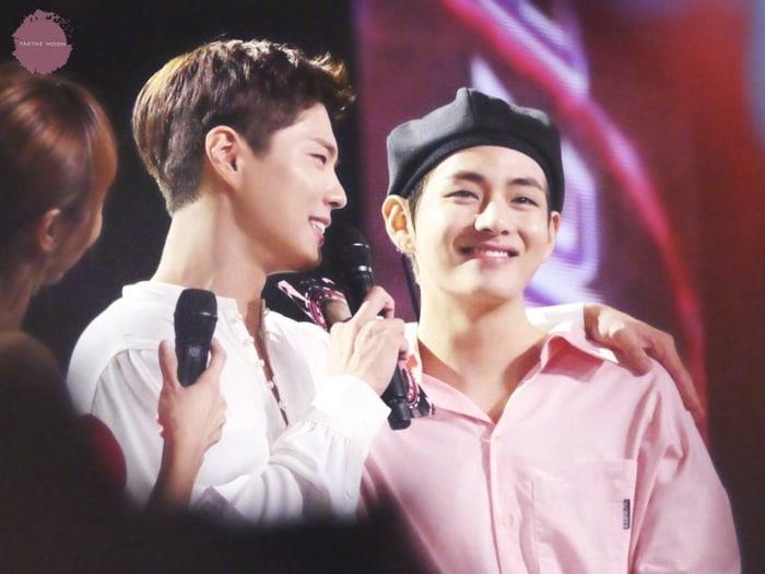 Park Bo-gum and BTS' V Byeol Korea
