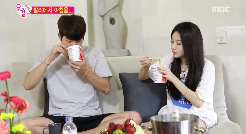 Hong Jong-hyun and Girls Day's Yura Byeol Korea