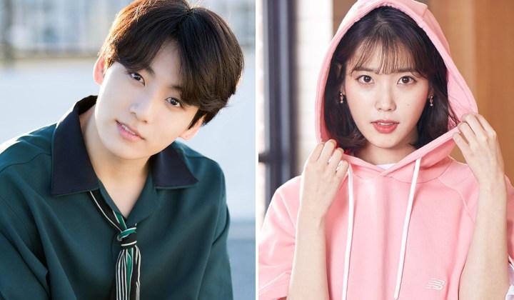 BTS's Jungkook and IU Byeol Korea