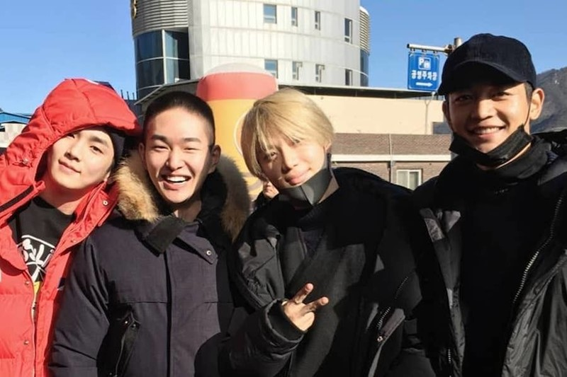 Shinee Onew Military Service Byeol Korea