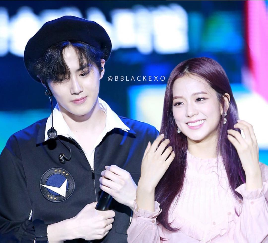 Suho and Jisoo Byeol Korea