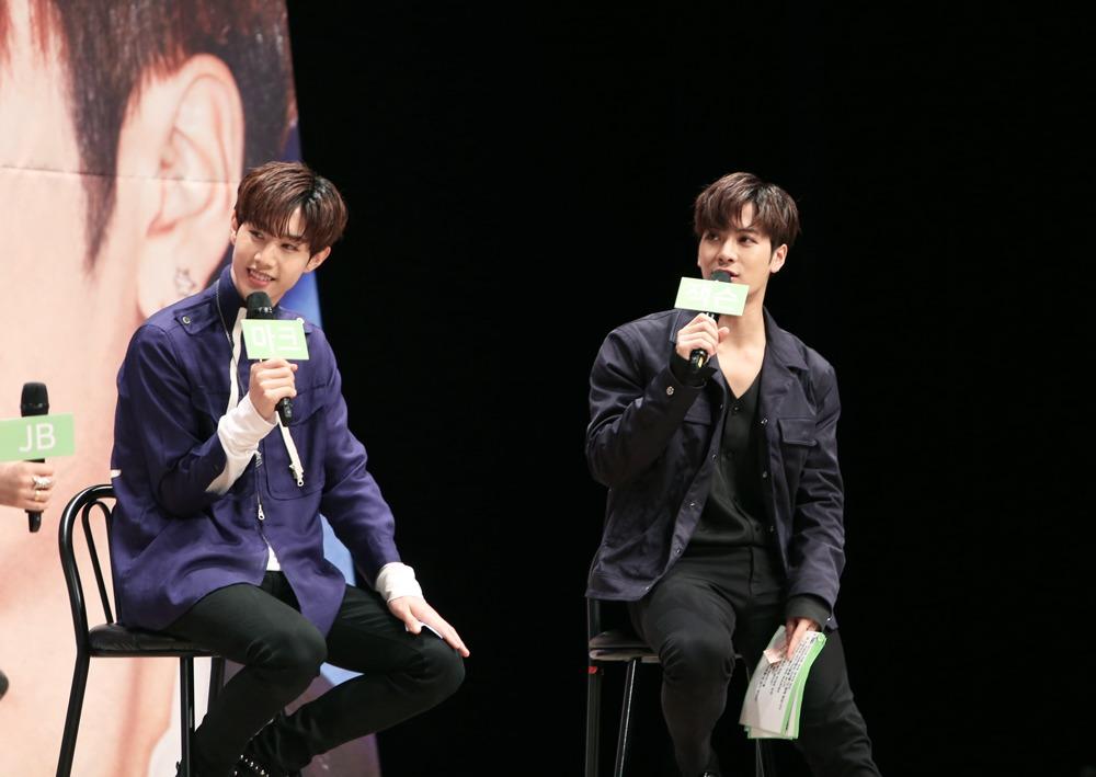 Got7's Mark and Jackson Byeol Korea