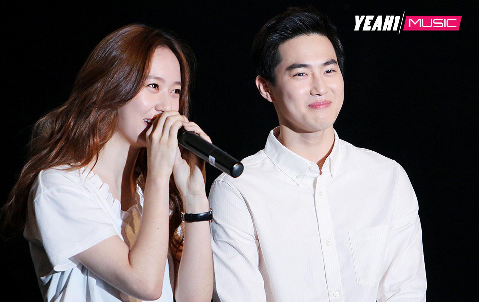Krystal and Suho Byeol Korea