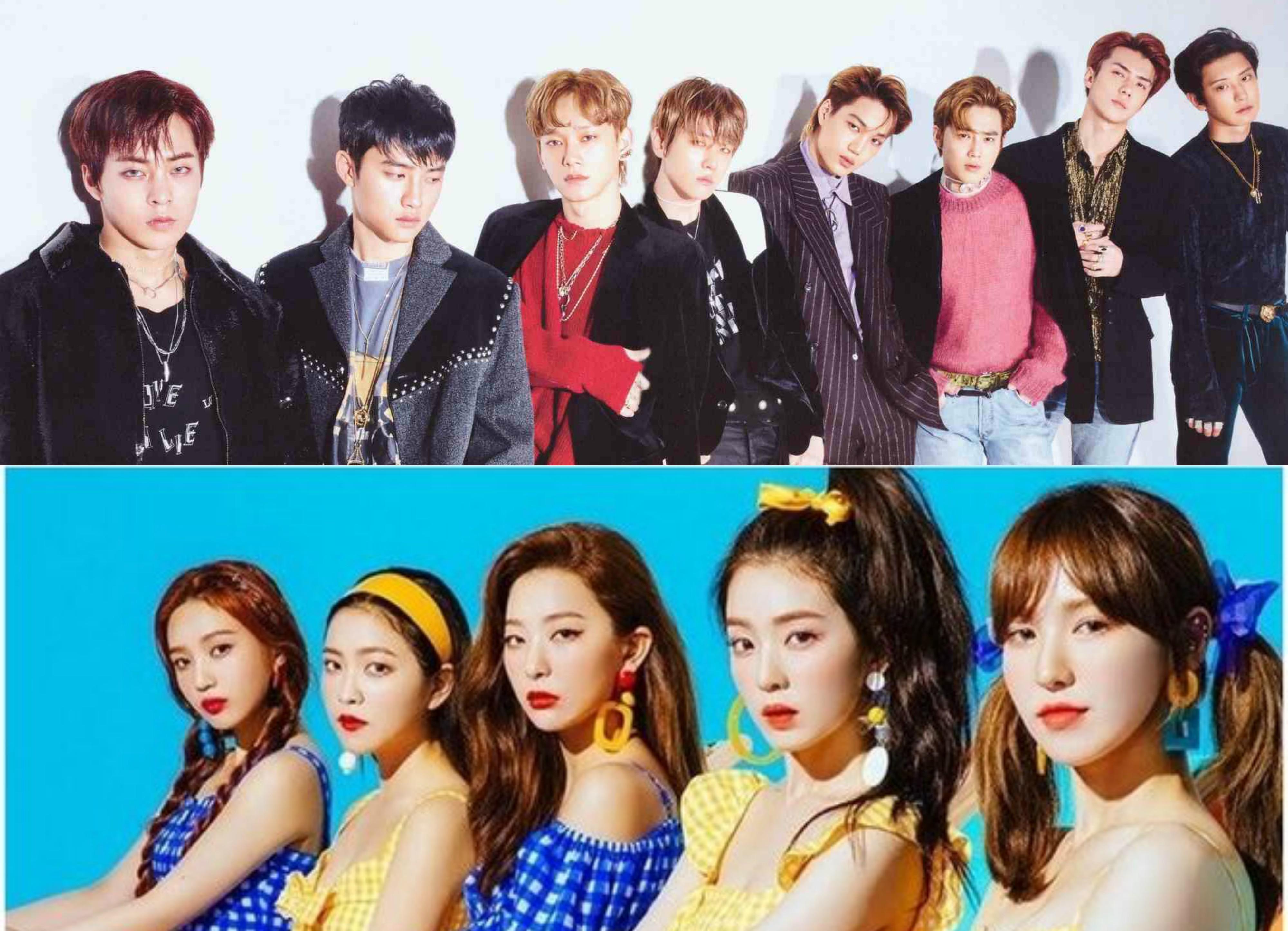 exo red velvet byeol korea