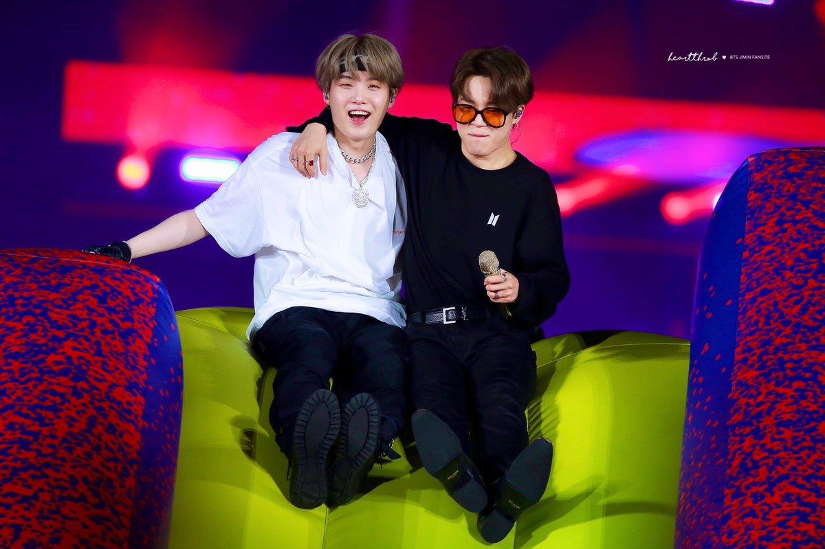 Suga and Jimin Byeol Korea